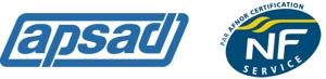 Logo Apsad & NF Service